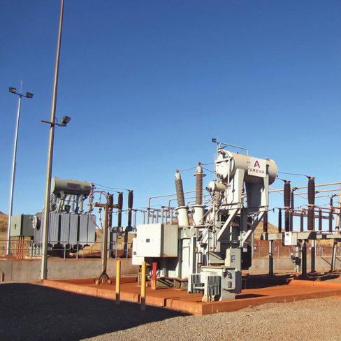 Yandi Substation BHP MINE AREA C GROWTH REACTIVE SUPPORT