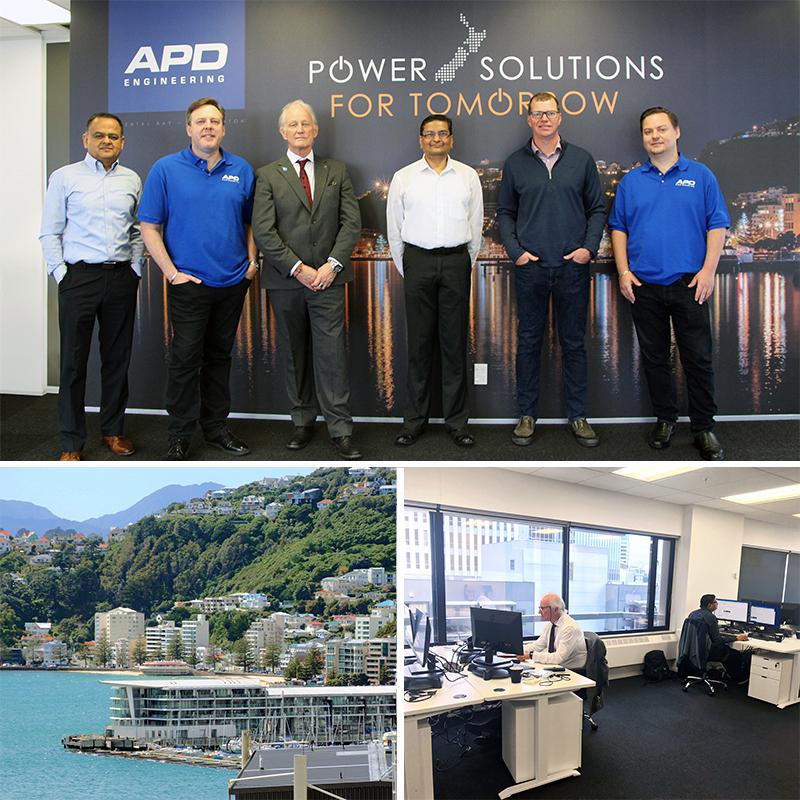 APD Engineering Office Wellington New Zealand